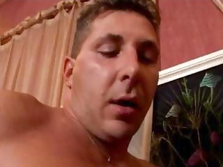 cougar french fucked by two men