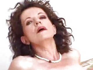 awesome woman takes a cumshots