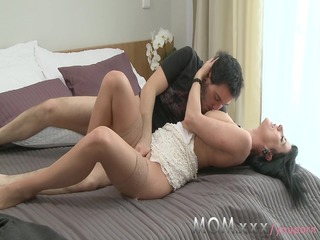 milf cheating milf pleases away