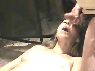 awesome woman acquiring a cumshots facial into