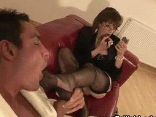 cougar italian femdom feet tease