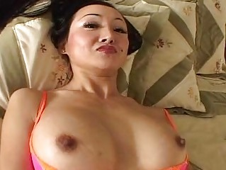 stretched haired woman ange venus engulfs a large