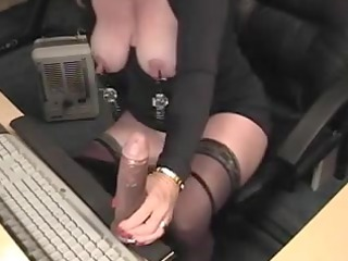 huge and big clean drilled exercised mother id