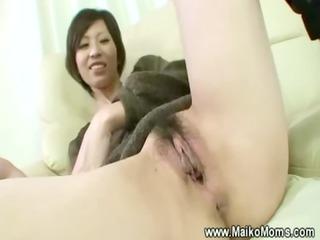 fisting juicy hirsute mature japanese vagina